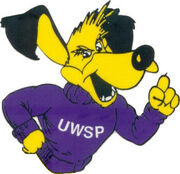Wisconsin Stevens Point old logo