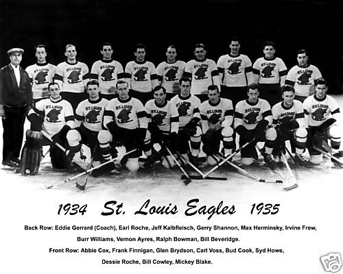 1934–35 St. Louis Eagles season | Ice Hockey Wiki | Fandom ...