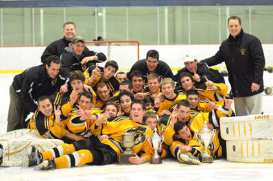 Boston Jr Bruins 2008 EJHL champs