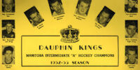1952-53 Dauphin Kings MAHA Playoffs