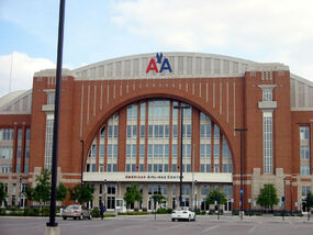 American Airlines Center outside