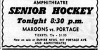 1953-54 Manitoba Senior Hockey League Playoffs