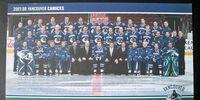 2007–08 Vancouver Canucks season