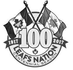 Maple Leafs centennial logo
