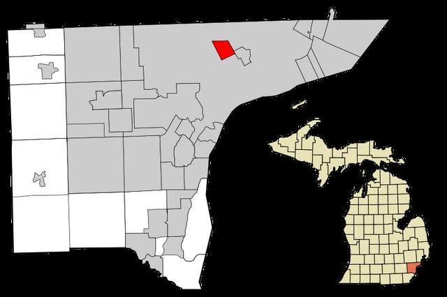 File:Highland Park, Michigan Map.png