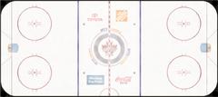 Winnipeg Jets ice rink logo