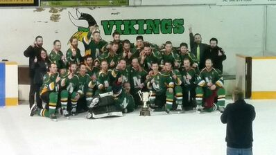 2016 Wheatland Hockey League champs Naicam Vikings