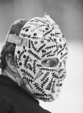 Cheevers mask closeup