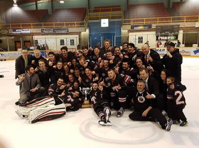 2017 MJAHL champs Truro Bearcats