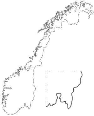 Norge-outline