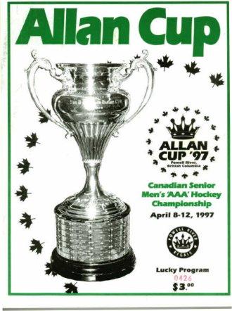 File:1997 Allan Cup Program cover.jpg