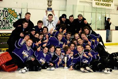 NH Jr. Monarchs 2010 EJHL champs