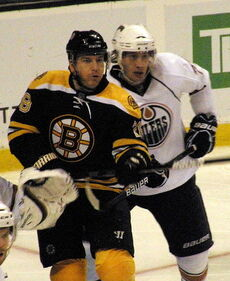 Mark Recchi and Tom Gilbert