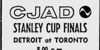 1963 Stanley Cup Finals