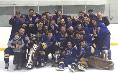 2016 MSHL champs Lac du Bonnet Blues