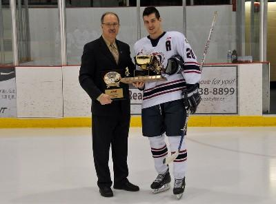 File:Shane Luke receives Mike Ridley Trophy.jpg