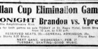 1917-18 Manitoba Senior Playoffs