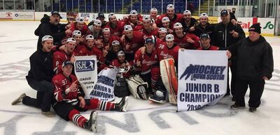 2017 NSJHL champs Pictou County Scotians