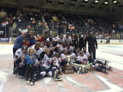 2017 SPHL champs Macon Mayhem