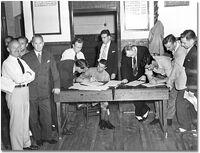 Conn Smythe enlisting 1939