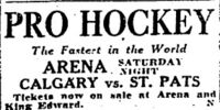 1924–25 Toronto St. Patricks season
