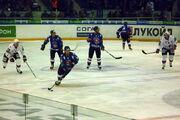 Matt Ellison (Torpedo) attacks SKA