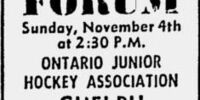 1962-63 OHA Junior A Season