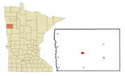 Ada, Minnesota Map
