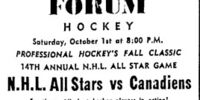 14th National Hockey League All-Star Game