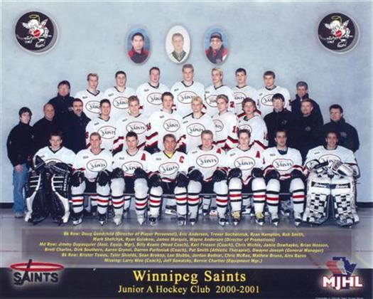 St. Boniface Saints 2000-01