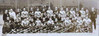 1934 Ace Bailey Game participants