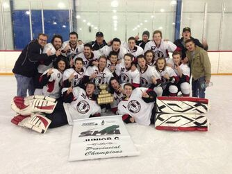 2014 RJCHL champs Moose Jaw