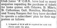 1945-46 OHA Junior A Season