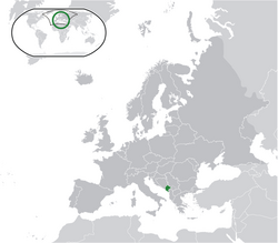685px-Location Montenegro Europe