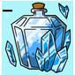 Crystal Snow Jar