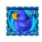 Blue Ducky Stamp Before 2015 revamp