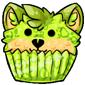 Green Ridix Cupcake