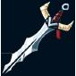 Engraved Spiky Sword