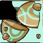 Empty Ancient Jakrit Egg