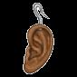 Brown Ear Earring