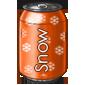 Orange Snow Soda