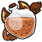 Brown Ridix Morphing Potion