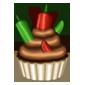 Chili Chocolate Cupcake