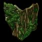 Enchanted Moss Shield