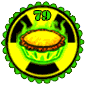 Nuclear Pie Stamp
