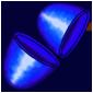 Empty Blue Jakrit Egg