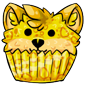 Yellow Ridix Cupcake