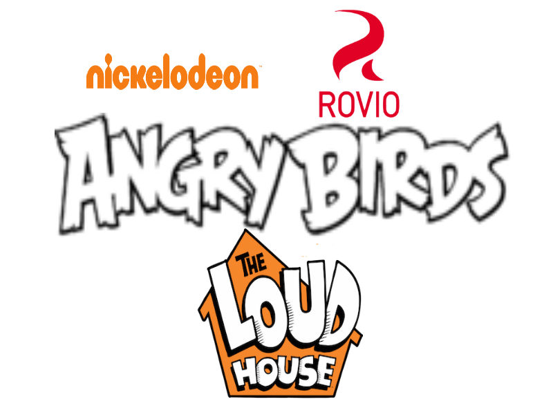 Angry Birds The Loud House Idea Wiki FANDOM Powered By Wikia - Famous logos redesigned as angry birds characters