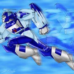 Autobot Fast Warrior Blurr