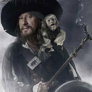 Pirate Captain Hector Barbossa